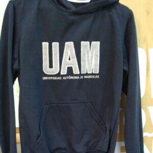 Buzo UAM azul con capota