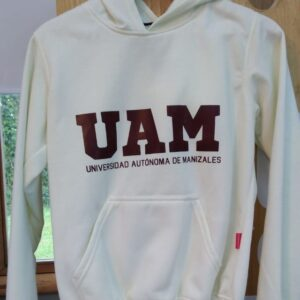 Buzo UAM beige con capota