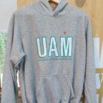 Buzo UAM gris con capota